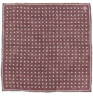 Canali polka dot pocket square