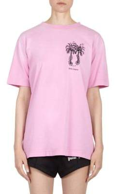 Palm Angels Palm Tree Cotton Tee