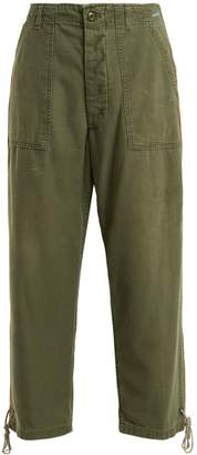 MYAR USP70 American cotton cropped trousers