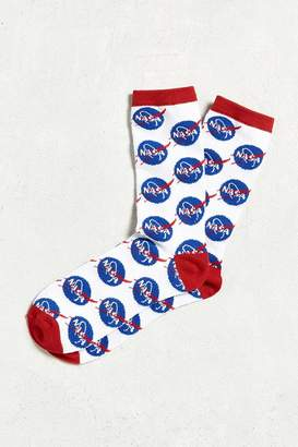Urban Outfitters NASA Meatball Logo Sock