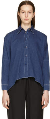 Maison Margiela Blue 80s Wash Chambray Shirt
