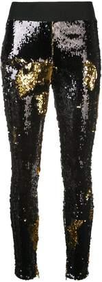 Fausto Puglisi sequinned leggings