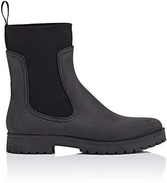 Barneys New York Women's Rubber & Neoprene Ankle Boots