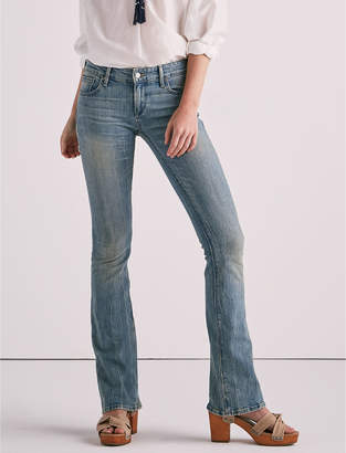 Lucky Brand Stella Low Rise Bootcut Jean In Waterstop