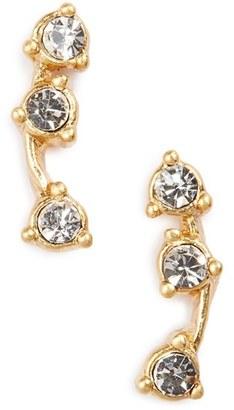 Women's Madewell 'Gemline' Stud Earrings $18 thestylecure.com