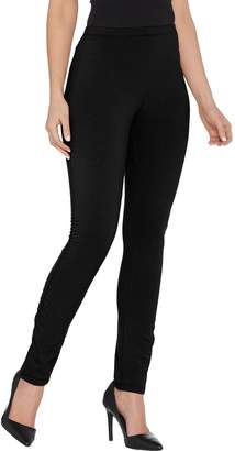Women With Control Women with Control Tall Pull-On Slim Leg Pant w/ Side Ruching