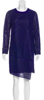 J. Mendel Crochet Shift Dress