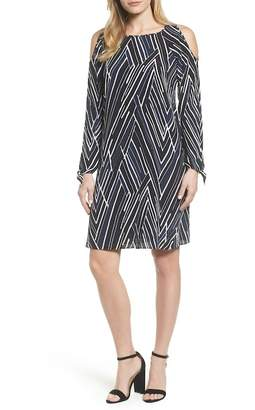 Nic+Zoe Bells & Whistles Cold Shoulder Dress (Petite)
