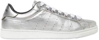 DSQUARED2 Laminated Leather Sneakers
