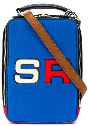 Sonia Rykiel logo colour block crossbody