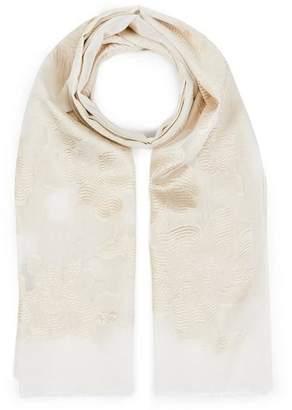 Liberty London Honour 70 X 180Cm Silk-Blend Jacquard Shawl