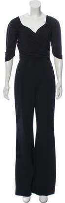 Chiara Boni Wide-Leg High-Rise Jumpsuit Black Wide-Leg High-Rise Jumpsuit