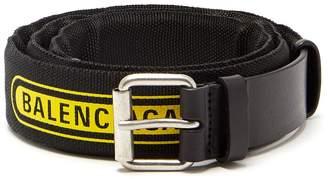 Balenciaga Logo belt