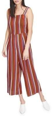 Miss Selfridge Striped Wide Leg Jumpsuit