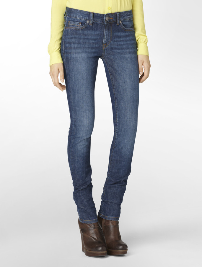 Calvin Klein Jeans Ultimate Skinny Pure Blue Wash Jeans