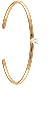 Anita Ko 18kt rose gold pear-cut diamond cuff