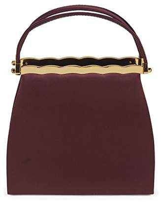 Farfalla Womens 90101 Clutch Brown