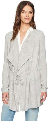 Design History Women's Easy Tie Long Cardi