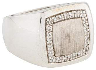 John Hardy Diamond Classic Chain Ring