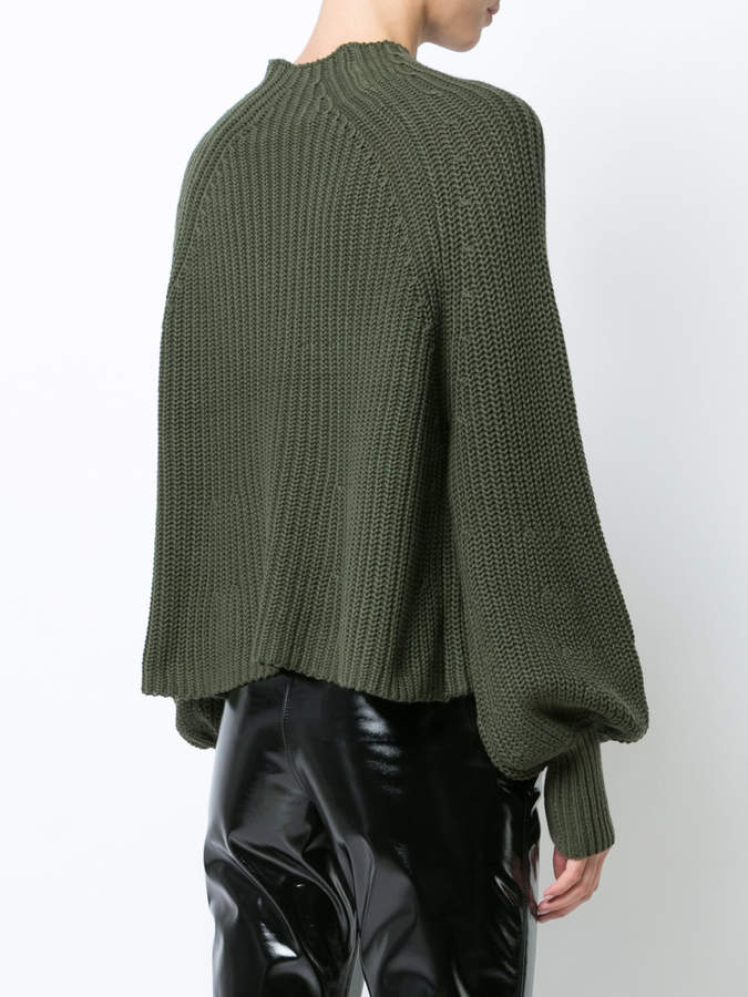 Apiece Apart mock turtle neck jumper