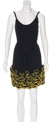 Yoana Baraschi Silk Sleeveless Dress