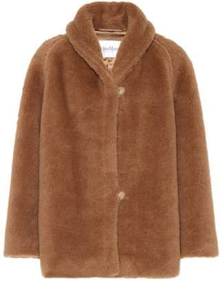 Max Mara Exclusive to mytheresa.com – Tempio camel hair and silk coat