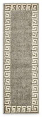 Bed Bath & Beyond Unique Loom Modern Athens 6' Runner Powerloomed in Gray