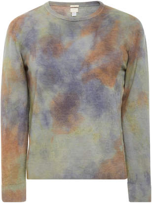 Massimo Alba Tie Dye Cashmere Crewneck Sweater