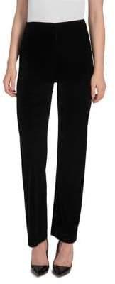 Lysse Wide-Leg Velvet Pants