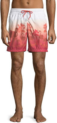 Blueport Swim Florida Ombre-Print Swim Shorts