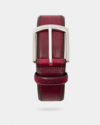 Ted Baker LILLIES Burnished leather belt