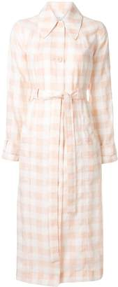 Alice McCall check print trench coat