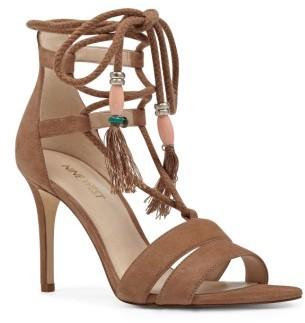 Women's Nine West Mangalara Lace-Up Sandal $89.95 thestylecure.com