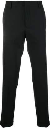 Prada turn up cuffs tailored trousers