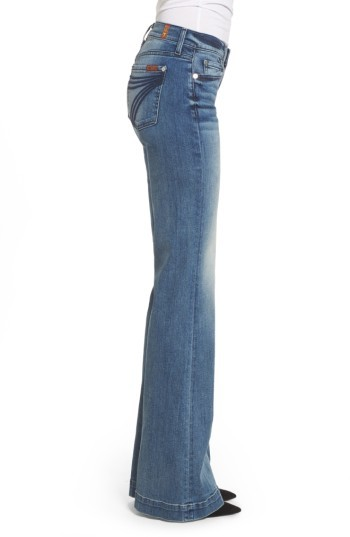 Women's 7 For All Mankind 'Dojo' Wide Leg Jeans