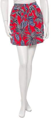 Etro Printed Mini Skirt