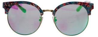 Gentle Monster Oversize Mirrored Sunglasses