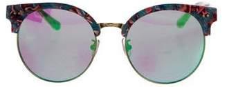 Gentle Monster Oversize Mirrored Sunglasses