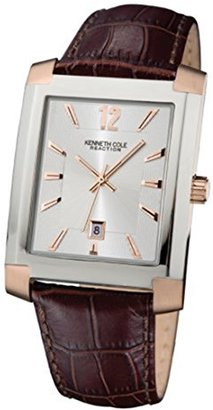 Kenneth Cole REACTION Unisex RK1435 Street Collection Analog Display Japanese Quartz Blue Watch $65 thestylecure.com