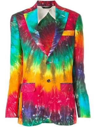 R 13 Boyfriend Tie Dye Blazer