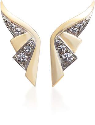 Jessica McCormack Winged Diamond Earrings