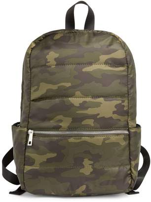 Core Life Camouflage Puffer Backpack