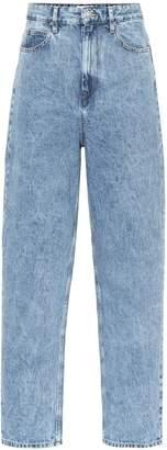 Etoile Isabel Marant Isabel Marant, étoile Corsy high-rise straight jeans