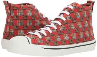 Burberry Kingly High Top Sneaker Men's Boots