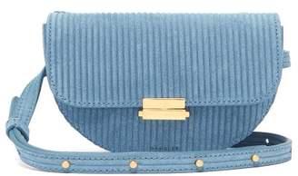 Wandler - Anna Suede Belt Bag - Womens - Blue