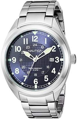 Nautica Men's 'Battery Park Collection' Quartz Stainless Steel Casual Watch
