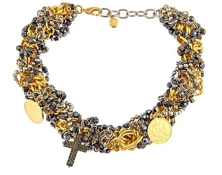 Ben Amun Tangled Collar Necklace