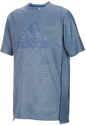 adidas Boy's Logo Crewneck Top