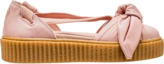 Puma Bow Creeper Sandal Rihanna Fenty Silver Pink (W)