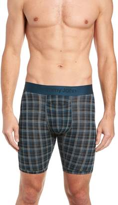 Tommy John Second Skin Plaid Boxer Briefs